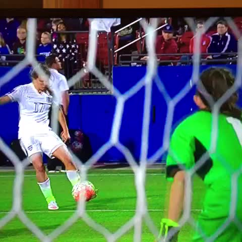 Holy Shit, Christen Press's First Touch Will Make Your Knees