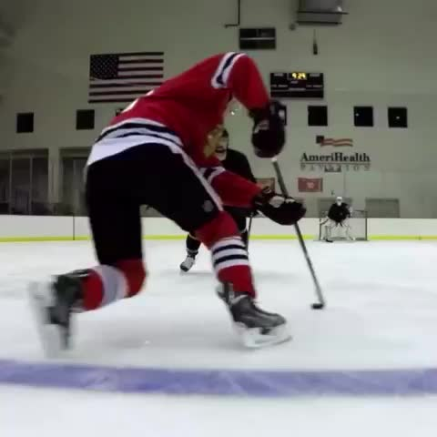 Vine by NHL - Toews makes it look way too easy. GoPro makes it look way too awesome.