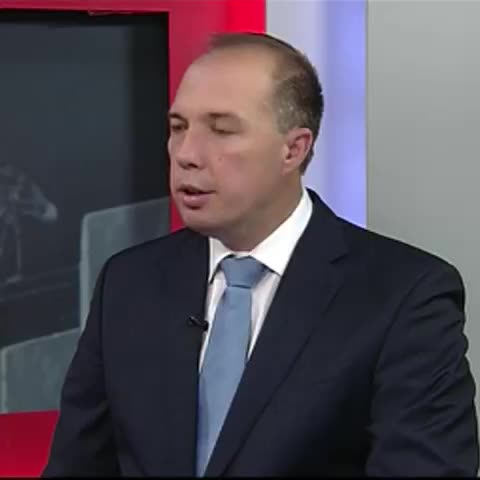 Peter Dutton #Fairfax jihad comment today. Tony Abbott on media freedom in opposition in 2013. #auspol ABC News - Vine by Dan Conifer - Peter Dutton #Fairfax jihad comment today. Tony Abbott on media freedom in opposition in 2013. #auspol ABC News