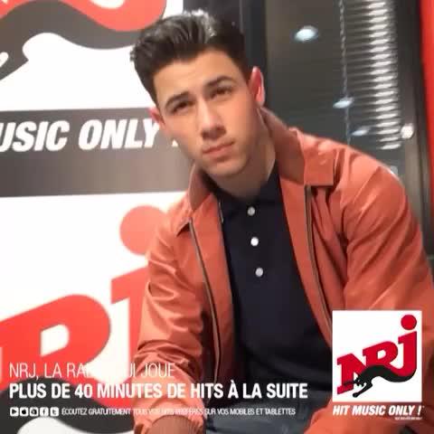 Vidéos de Nick Jonas lors de son passage sur NRJ France !!