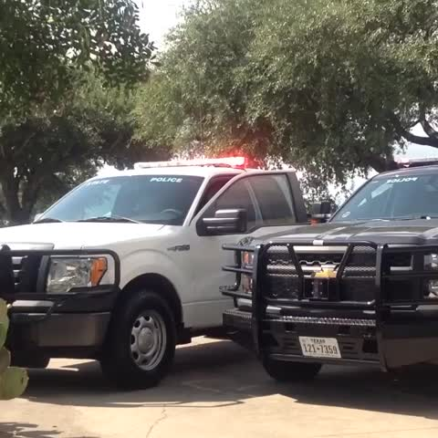 Lights on to honor Deputy #Goforth - Vine by Michael Mitchell - Lights on to honor Deputy #Goforth