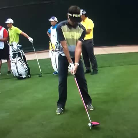 Bubba sticking it to a foot from 341 yards... - Vine by Golf Club Wankers - Bubba sticking it to a foot from 341 yards...