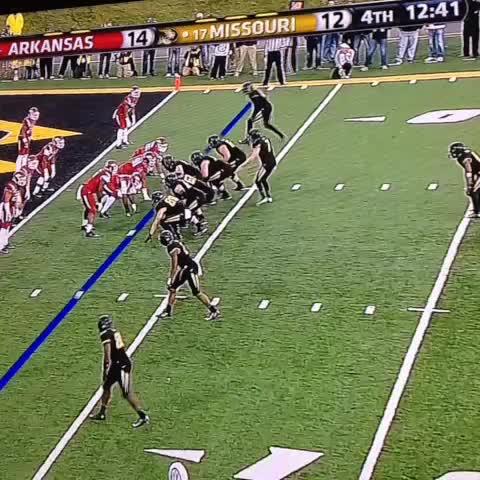 SportsQuickies post on Vine - Mizzou trick play for 2 pt conversion. #SEC - SportsQuickies post on Vine