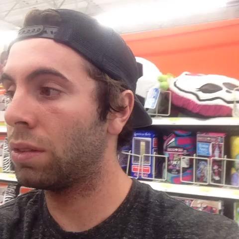 Walmart has an inchworm problem..