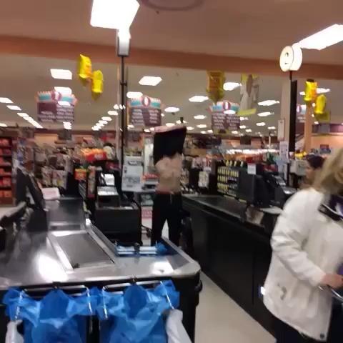 Supermarket Swimmer