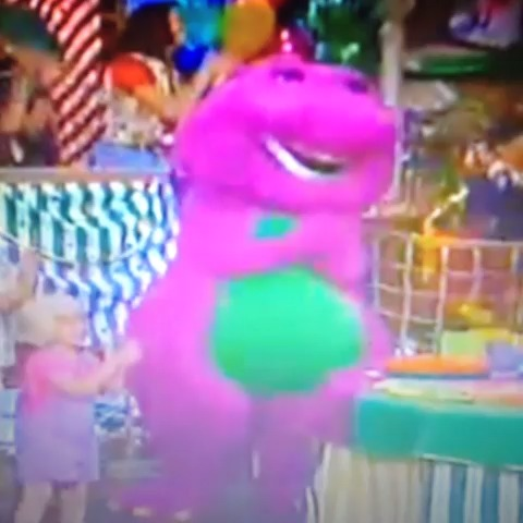 Barney was never for kids